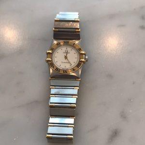 Women's omega constellation watch